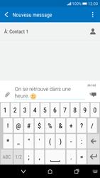 HTC Desire 626 - Contact, Appels, SMS/MMS - Envoyer un SMS - Étape 10