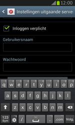 Samsung S7710 Galaxy Xcover 2 - E-mail - e-mail instellen: IMAP (aanbevolen) - Stap 13