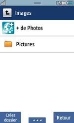 Samsung Wave 723 - Photos, vidéos, musique - Envoyer une photo via Bluetooth - Étape 5