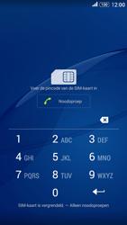 Sony E2003 Xperia E4 G - Device maintenance - Een soft reset uitvoeren - Stap 4