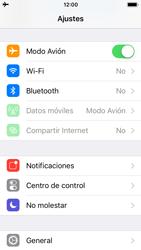 Apple iPhone 5s - iOS 11 - Funciones básicas - Activar o desactivar el modo avión - Paso 4