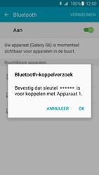 Samsung G925F Galaxy S6 Edge - Bluetooth - headset, carkit verbinding - Stap 7