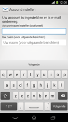 Sony C6903 Xperia Z1 - E-mail - Handmatig instellen - Stap 18