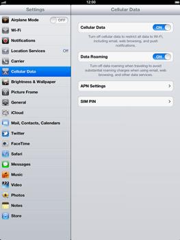Apple The New iPad - Internet - Usage across the border - Step 4