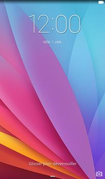 Huawei MediaPad T1 (7.0) - Device maintenance - Effectuer une réinitialisation logicielle - Étape 4