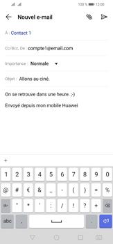 Huawei P30 Lite - E-mail - envoyer un e-mail - Étape 9