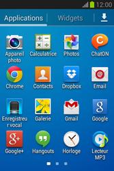 Samsung S6790 Galaxy Fame Lite - E-mail - envoyer un e-mail - Étape 2