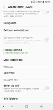 Samsung galaxy-a8-2018-sm-a530f-android-oreo - Voicemail - Handmatig instellen - Stap 6