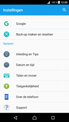 Sony Xperia Z5 - Android Nougat - Netwerk - Software updates installeren - Stap 5