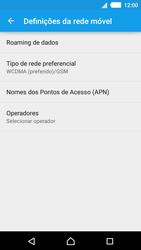 Sony Xperia M4 Aqua - Internet no telemóvel - Como ativar 4G -  6