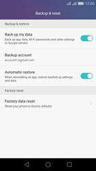 Huawei Honor 5X - Device maintenance - Create a backup of your data - Step 8