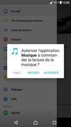 Sony Xperia XA1 - Photos, vidéos, musique - Ecouter de la musique - Étape 4