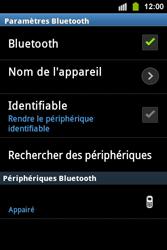 Samsung S5830i Galaxy Ace i - Bluetooth - connexion Bluetooth - Étape 12