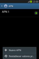 Samsung S6310 Galaxy Young - Mensajería - Configurar el equipo para mensajes multimedia - Paso 8