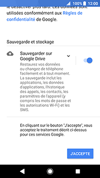 Sony Xperia XA2 Ultra - E-mail - Configuration manuelle (gmail) - Étape 14