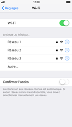 Apple iPhone 8 - iOS 12 - Wifi - configuration manuelle - Étape 4