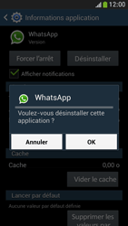 Samsung Galaxy S4 Mini - Applications - Supprimer une application - Étape 8