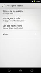 Sony C6903 Xperia Z1 - Messagerie vocale - configuration manuelle - Étape 7