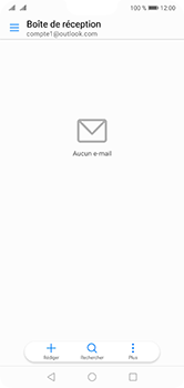 Huawei P20 Lite - E-mail - 032c. Email wizard - Outlook - Étape 3