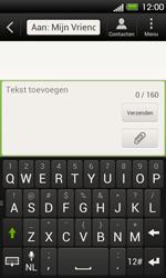 HTC T320e One V - MMS - Afbeeldingen verzenden - Stap 6