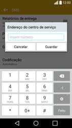 LG C70 / SPIRIT - SMS - Como configurar o centro de mensagens -  8