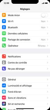 Apple iPhone X - Réseau - Utilisation à l