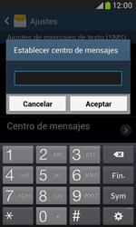 Samsung S7580 Galaxy Trend Plus - Mensajería - Configurar el equipo para mensajes de texto - Paso 7
