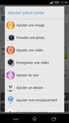 Sony Xpéria T3 - Contact, Appels, SMS/MMS - Envoyer un MMS - Étape 12