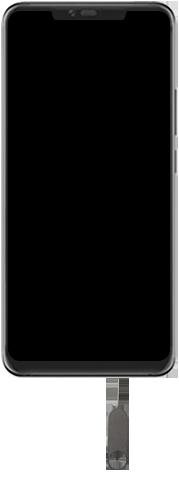 Huawei Mate 20 Pro - Toestel - simkaart plaatsen - Stap 2
