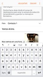 Samsung Galaxy A5 (2017) (A520) - E-mail - Escribir y enviar un correo electrónico - Paso 15