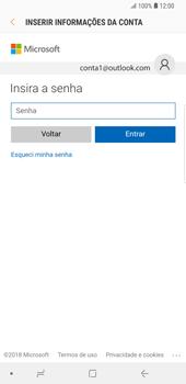 Samsung Galaxy S9 Plus - Email - Como configurar seu celular para receber e enviar e-mails - Etapa 6