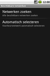 Samsung I7500 Galaxy - Netwerk - gebruik in het buitenland - Stap 9