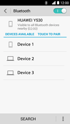Huawei Ascend Y530 - WiFi and Bluetooth - Setup Bluetooth Pairing - Step 5