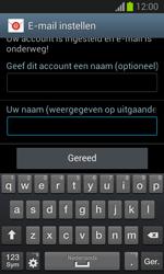 Samsung S7390 Galaxy Trend Lite - E-mail - Account instellen (POP3 zonder SMTP-verificatie) - Stap 19