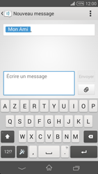 Sony Xpéria Z3 - Contact, Appels, SMS/MMS - Envoyer un SMS - Étape 7