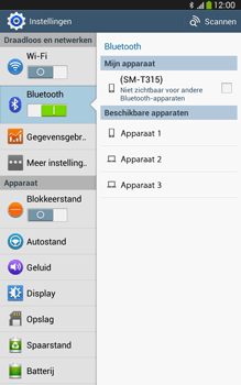 Samsung T315 Galaxy Tab 3 8-0 LTE - Bluetooth - Aanzetten - Stap 5