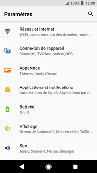 Sony Xperia XA2 Ultra - Wi-Fi - Accéder au réseau Wi-Fi - Étape 4