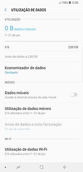 Samsung Galaxy Note 8 - Android Oreo - Internet no telemóvel - Como ativar os dados móveis -  6
