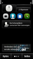 Nokia 500 - Internet - Handmatig instellen - Stap 1