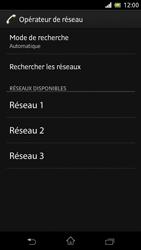 Sony C5503 Xperia ZR - Réseau - Utilisation à l