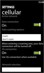 HTC 7 Trophy - MMS - probleem met ontvangen - Stap 7