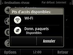 Nokia E6-00 - Wifi - configuration manuelle - Étape 8