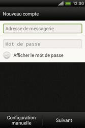 HTC A320e Desire C - E-mail - Configuration manuelle - Étape 6