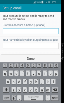 Samsung N915FY Galaxy Note Edge - Email - Manual configuration - Step 18