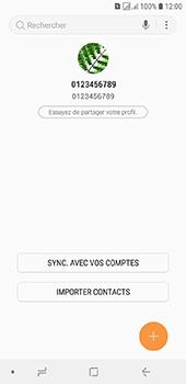 Samsung Galaxy J6 - Contact, Appels, SMS/MMS - Ajouter un contact - Étape 5