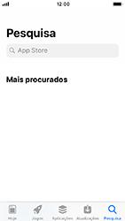 Apple iPhone SE - iOS 12 - Aplicações - Como pesquisar e instalar aplicações -  8