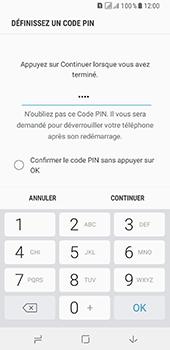 Samsung Galaxy A8 - Sécuriser votre mobile - Activer le code de verrouillage - Étape 8