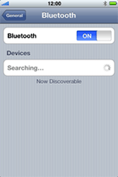 Apple iPhone 3G - Bluetooth - Pair with another device - Step 5
