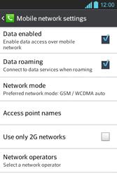 LG E610 Optimus L5 - Internet - Usage across the border - Step 6
