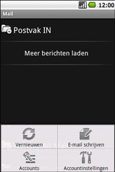 Samsung I5700 Galaxy Spica - E-mail - hoe te versturen - Stap 5
